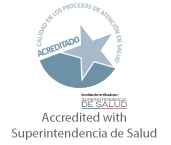 Accredited with Superintendencia de Salud