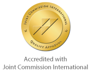 Accredited with Joint Commission International
