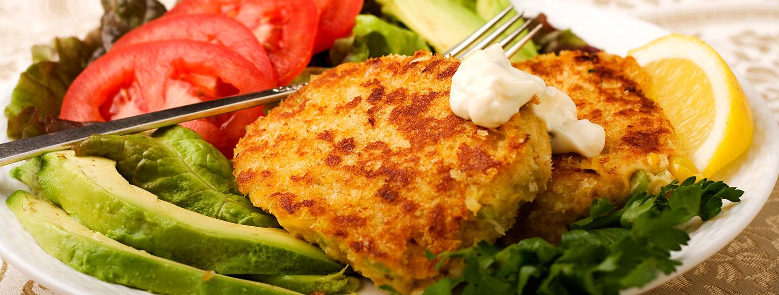 Receta saludable : Croquetas de salmón. - Noviembre | Clínica ...