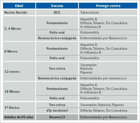 Nuevo Calendario De Vacunacion Infantil Mayo Clinica Alemana De
