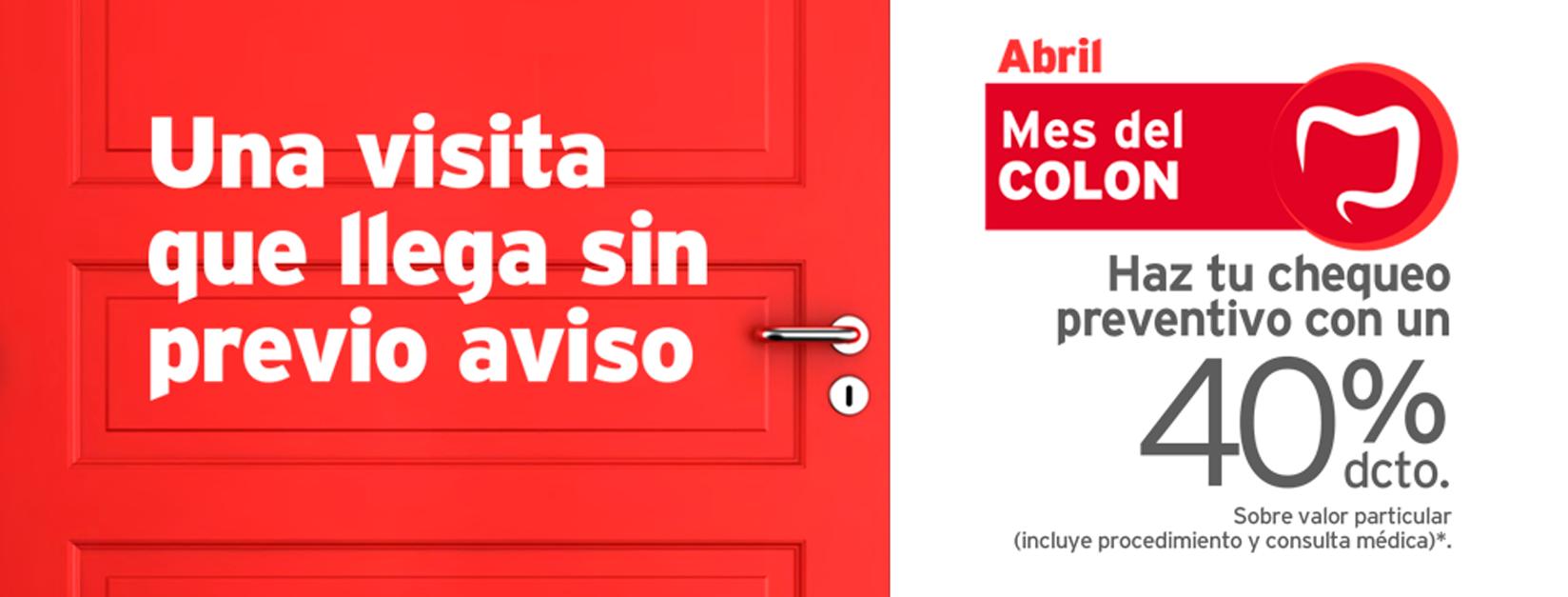 Mes del Colon: el cáncer de colon y recto no avisa - Abril | Clínica ...